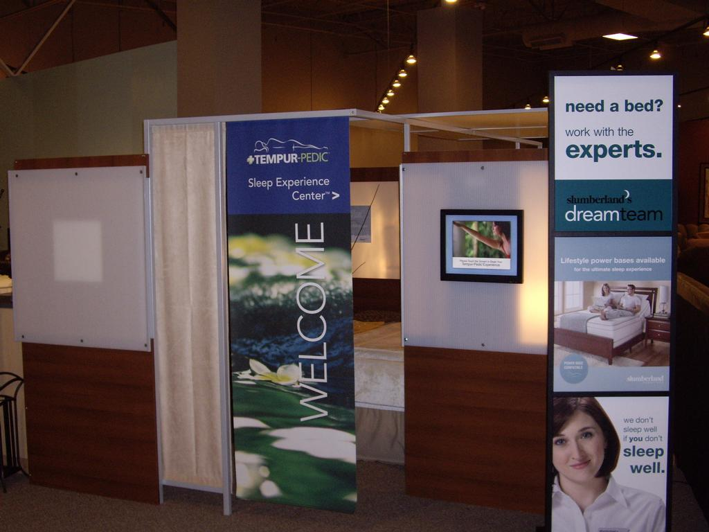 Home Decor Stores In St Louis Mo Tempur Pedic Experience Room St Louis Slumberland