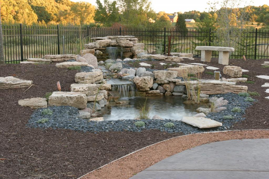 Pictures for exteriors unlimited landscape contractors inc for Garden pond unlimited