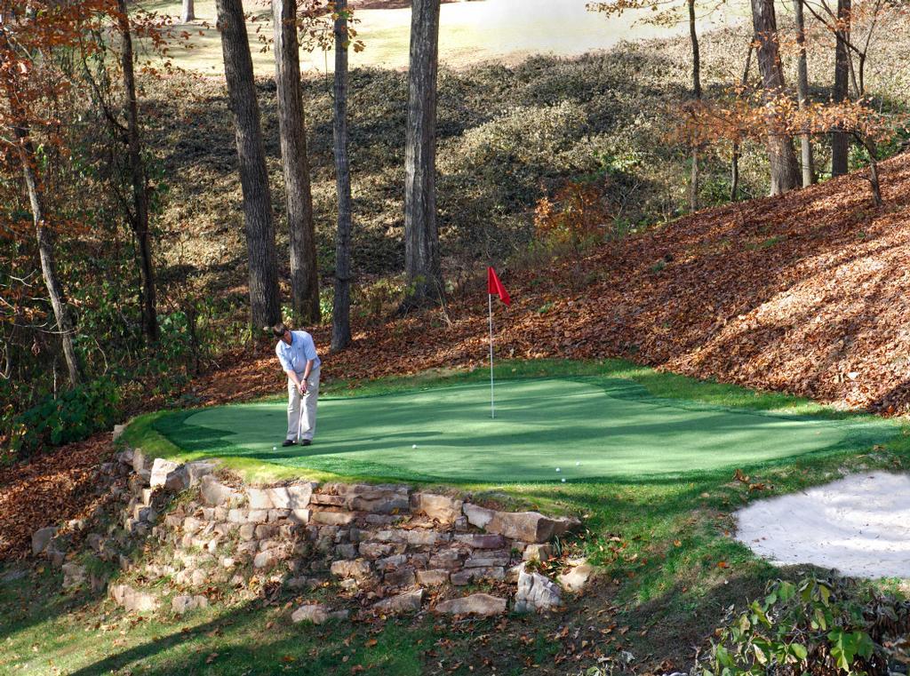 Real Putting Green Backyard : Backyard Putting Green from IntelliTurf, Inc in Atlanta, GA 31106