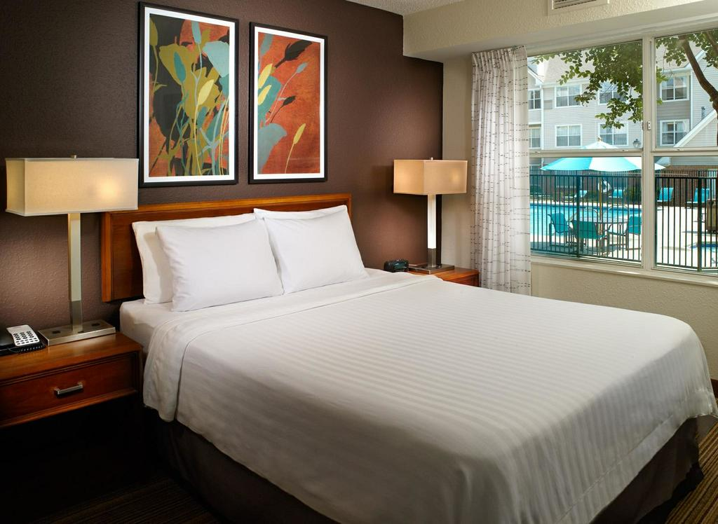 enjoy our two bedroom suites with comfortable bedding and a relaxing