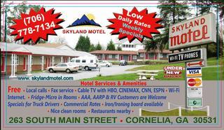 Skyland Motel - Cornelia, GA