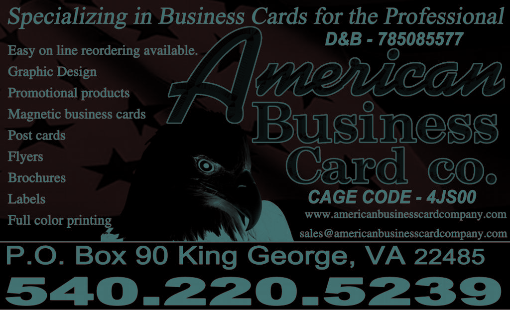 American business card co fedex auth ship center copy for Business card fedex