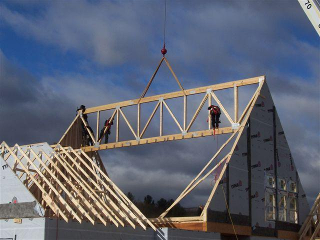 Roof trussess dimension prefab trussess timber Pre made roof trusses