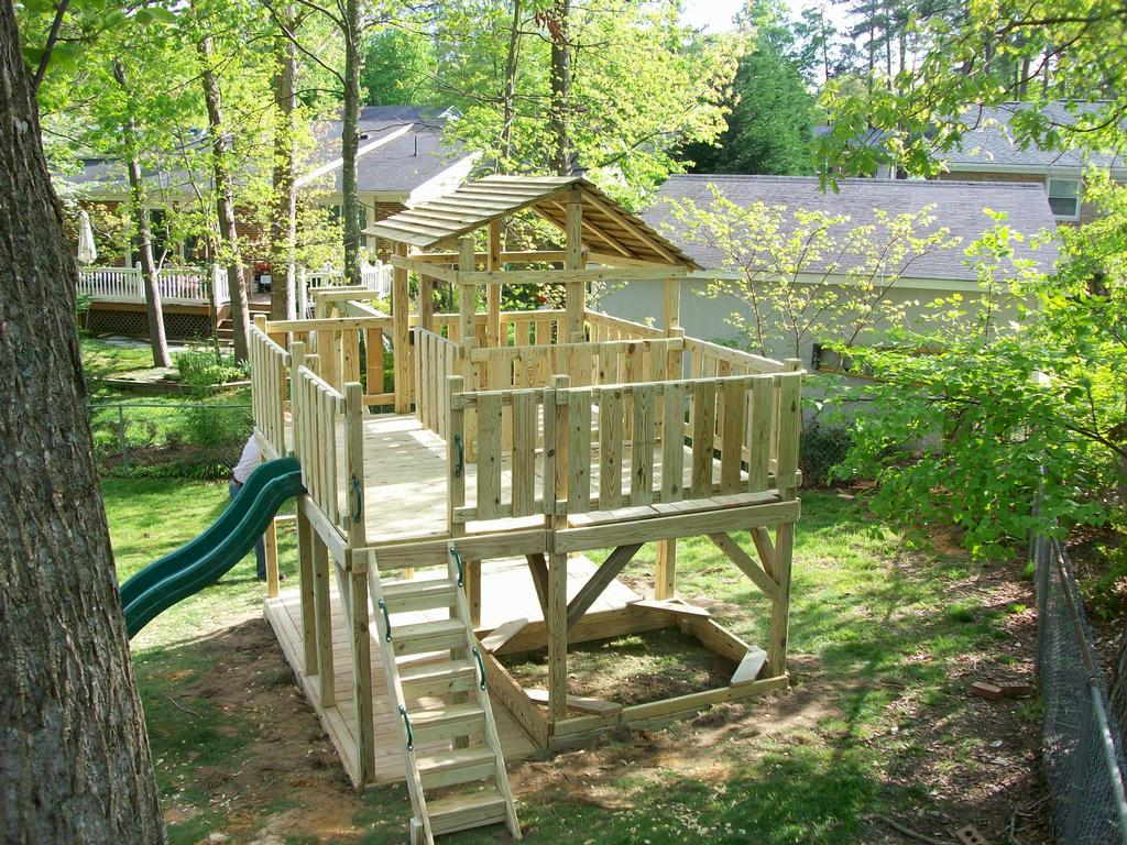 Pictures for backyard playground in raleigh nc 27607 for Play yard plans
