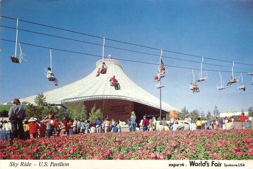 Sky Ride At Expo 74 Worlds Fair In Spokane From Donna