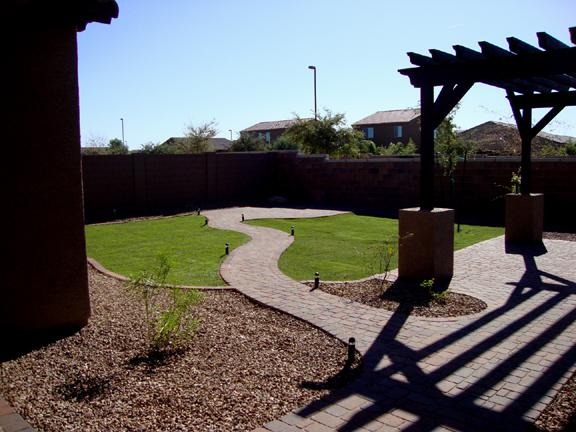 Gaby Backyard Pavers From Az Living Landscape Design In San Tan