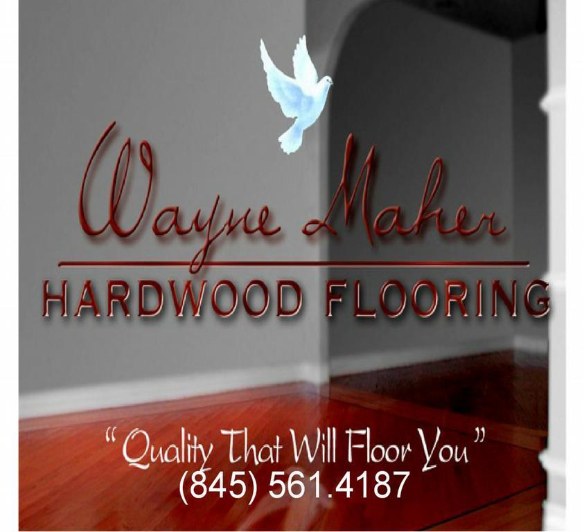 Business Card Reset From Maher Wayne Hardwood Floor Sanding amp Refinishing In Newburgh NY 12550