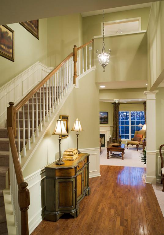 Model Home Foyer Pictures : Longwood model foyer from pulte homes corp in newburgh ny
