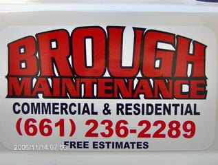 Brough Maintenance - Lancaster, CA