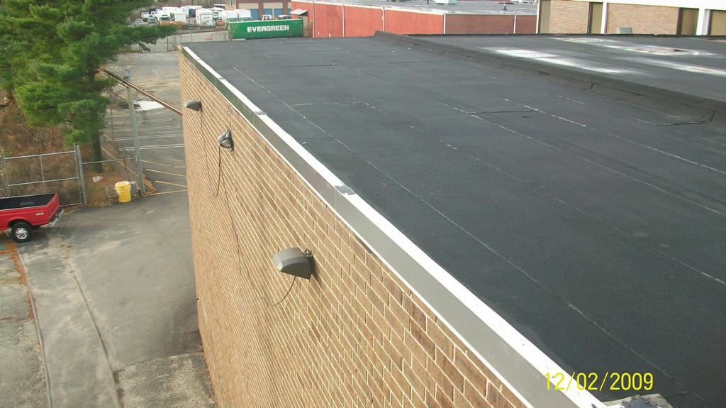 flat roof installation instructions