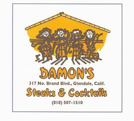 Damon's Steak House - Glendale, CA