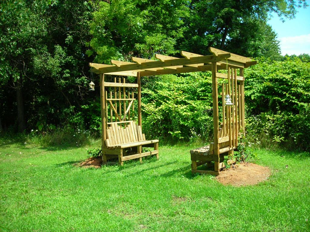 Grape Arbor Plans  Free Grape Arbor Plans  Woodworking Project Plans   Grapevine Arbor  Pinterest  Grape Arbor And Arbors
