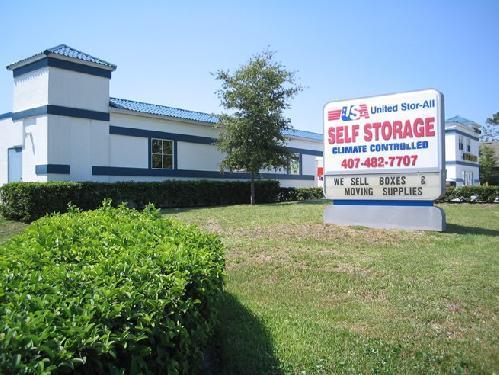 United Stor All Self Storage In Orlando Fl Orlando Fl