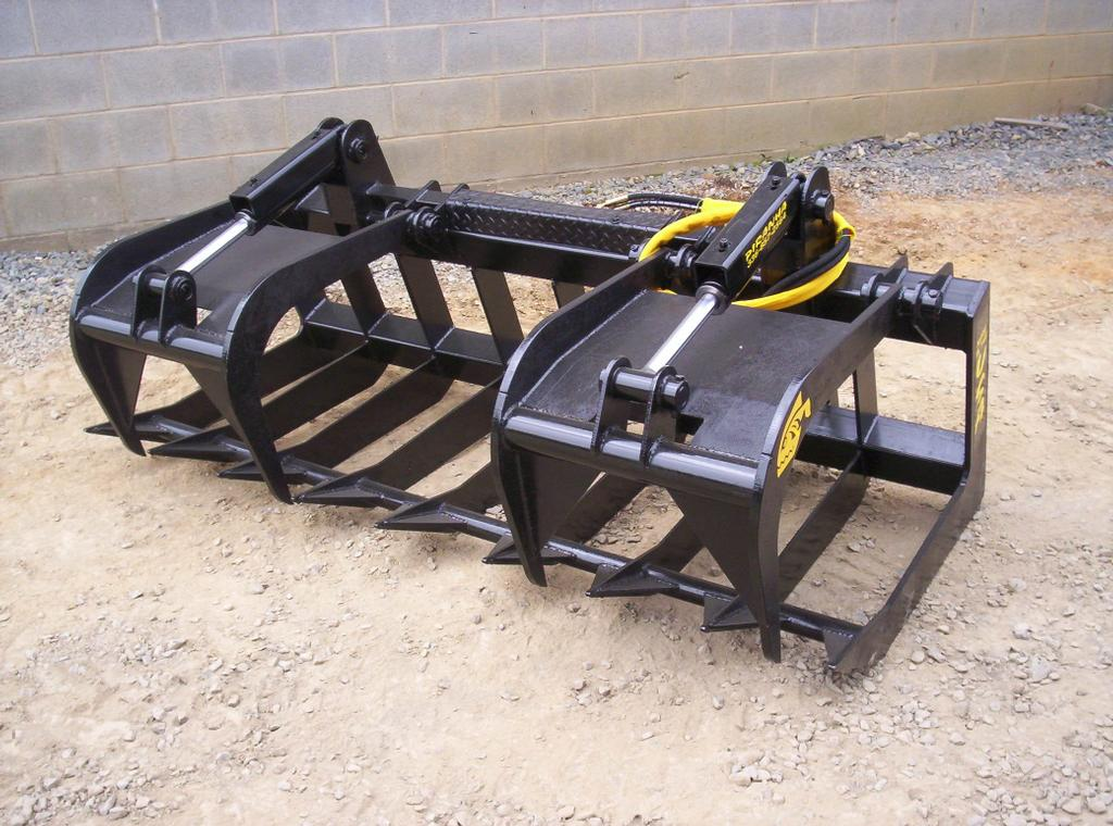 Root Grapple Jpg From High Rock Skid Steer Attachments In