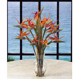 Exotic Flower Arrangements on Artificial Bird Of Paradise Bamboo Vase Jpg Provided By Living Water