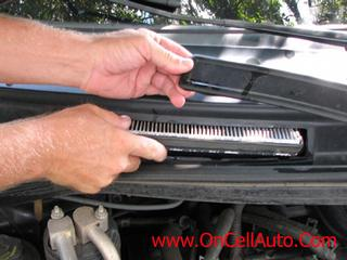 Time to winterize think cabin air filter on cell auto in for 2006 ford f150 cabin air filter location