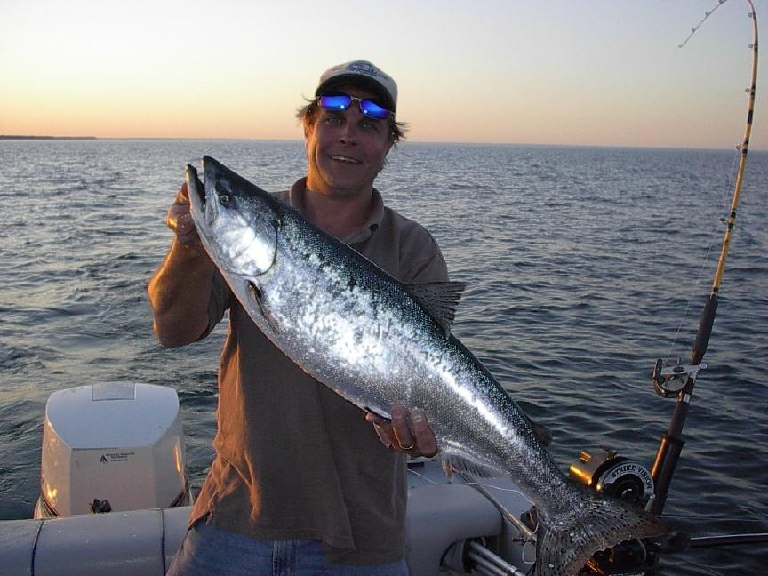 Brew city charters lake michigan sport fishing milwaukee for Lincoln city fishing charters