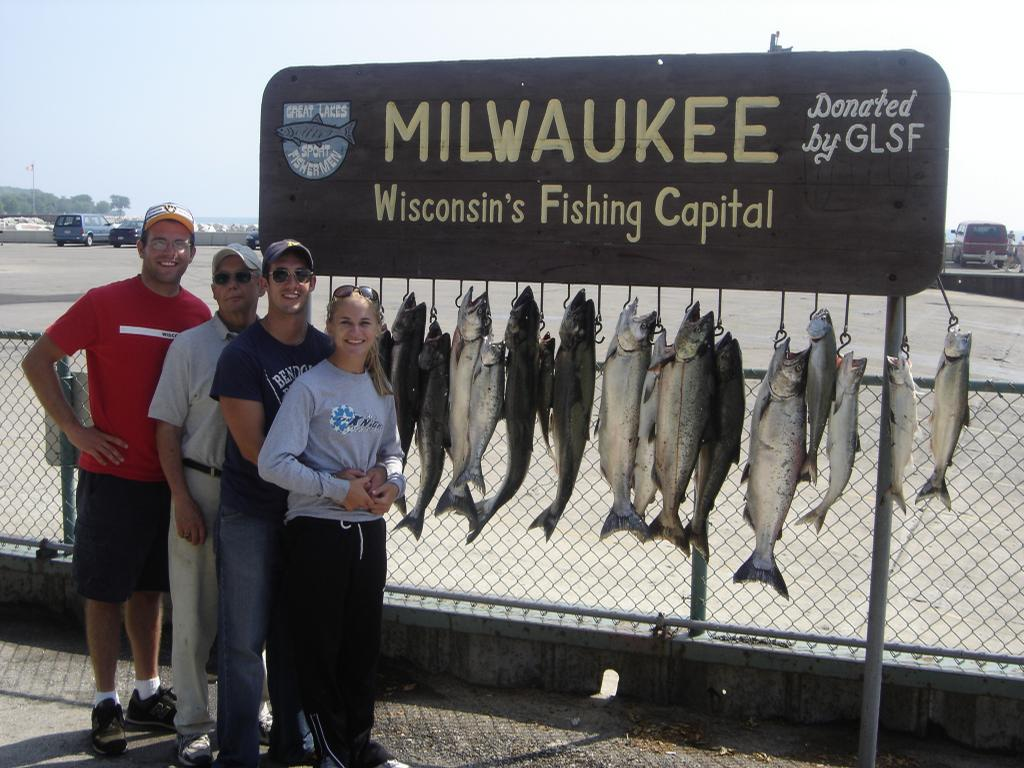 brew city charters lake michigan sport fishing milwaukee