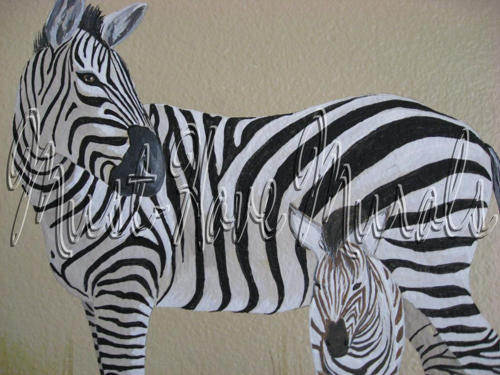 Picture Africa Jungle Zoo Animals Mural Decorating Ideas Decor ... Zebra ... & Wall Decor Zebra | gustitosmios