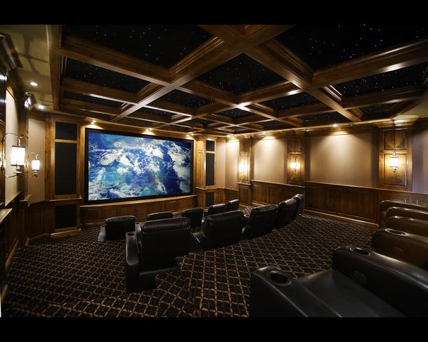 custom home theater design pictures joy studio design gallery best design. Black Bedroom Furniture Sets. Home Design Ideas