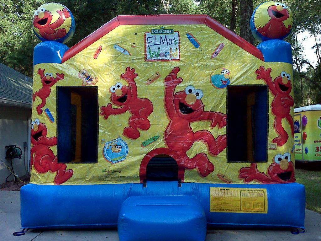 Frozen Inflatable Bounce House San Antonio Party