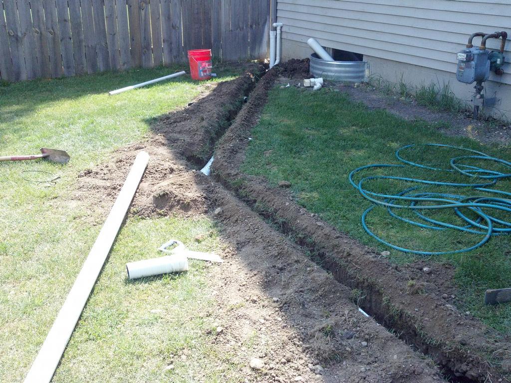 Rain drain 2012 013 from rain drain columbus ohio basement for Yard drain box