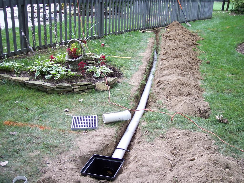 Rain drain ohio 046 from rain drain columbus ohio basement for Yard drain box