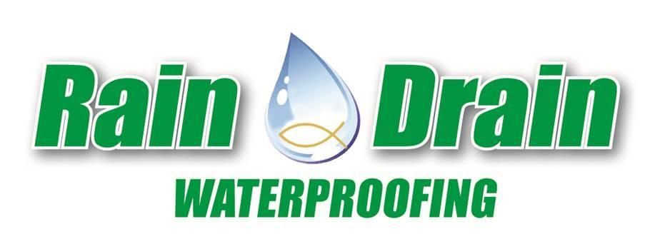 Rain Drain of Ohio logo by Rain Drain Columbus Ohio Basement Waterproofing Gutter Protection Yard Drain Systems Foundation