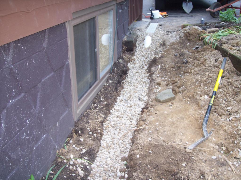 Pictures For Rain Drain Columbus Ohio Basement
