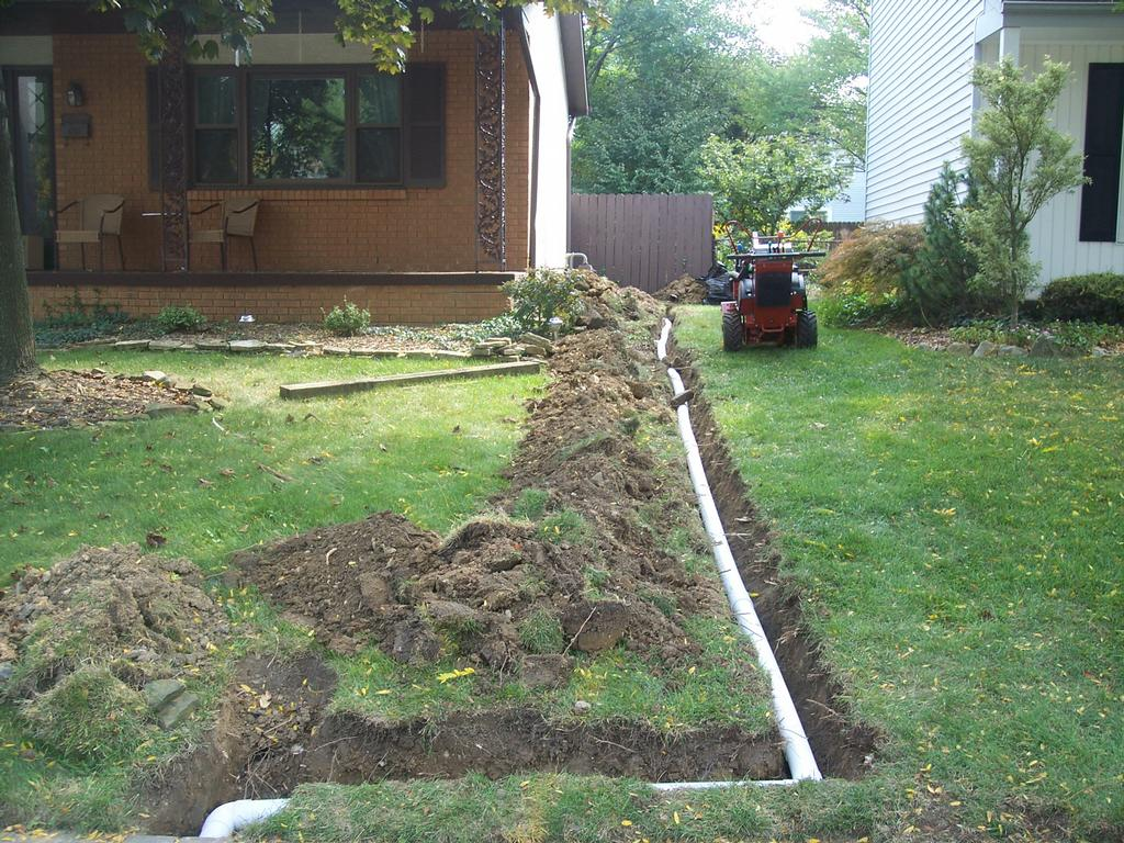 plumb 1 001 by Rain Drain Columbus Ohio Basement Waterproofing Gutter Protection Yard Drain Systems Foundation
