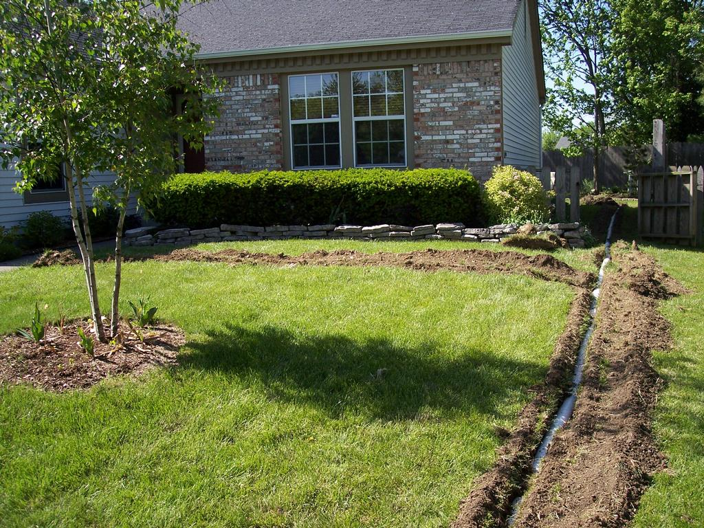 tv and stu 001 by Rain Drain Columbus Ohio Basement Waterproofing Gutter Protection Yard Drain Systems Foundation
