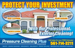 Pressure Cleaning Plus Roof Cleaning West Palm Beach Fl