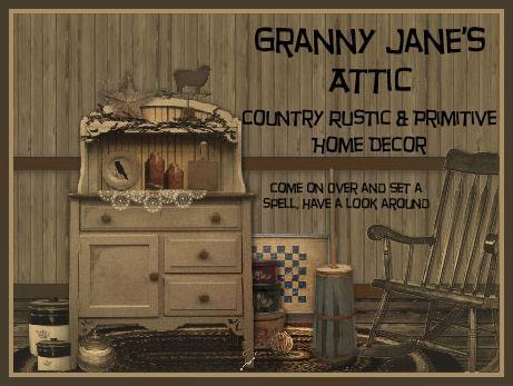 Granny jane rug shop flinton pa 16640 814 687 3880 Rustic country home decor