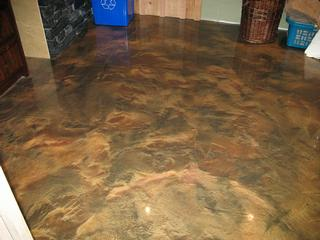 Reflector epoxy flooring commerical or residential for Decorative concrete floors residential