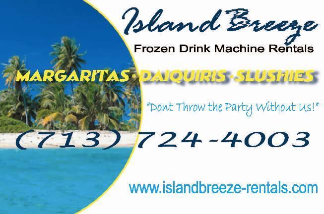 frozen drink machine rental island