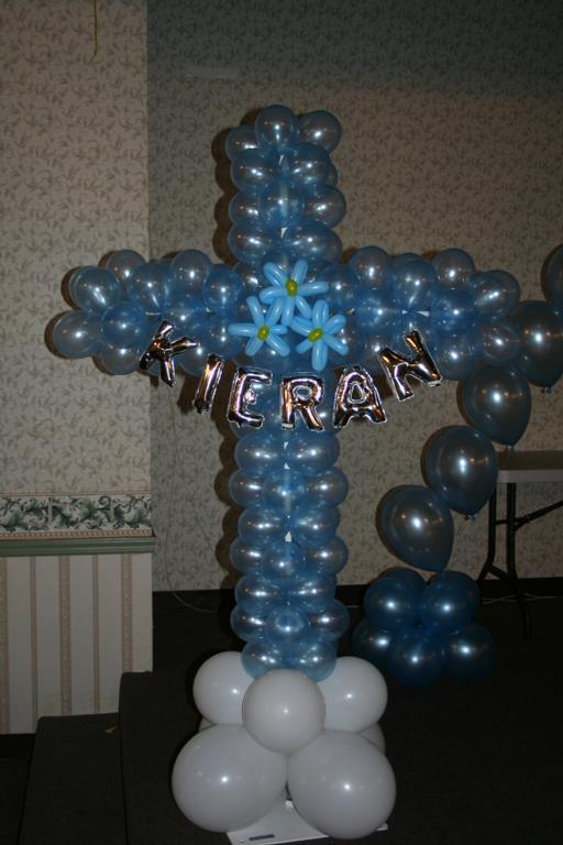Personalized cross for communion or christening from