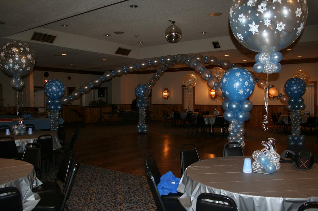 Pictures for elegant balloons llc in pearl river ny 10965 for Winter dance decorations