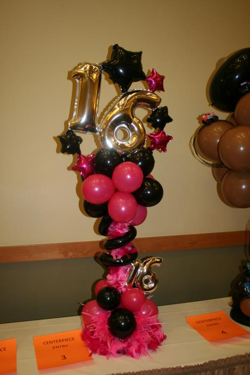 Pictures for elegant balloons llc in pearl river ny 10965 for Balloon decoration ideas for sweet 16