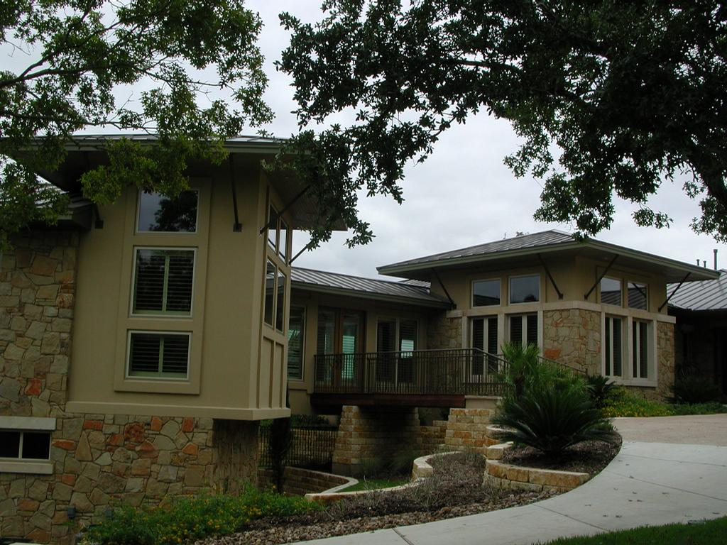 Pictures for rob sanders designer custom home building for Hill country style homes