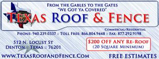 Texas Roof & Fence - Homestead Business Directory