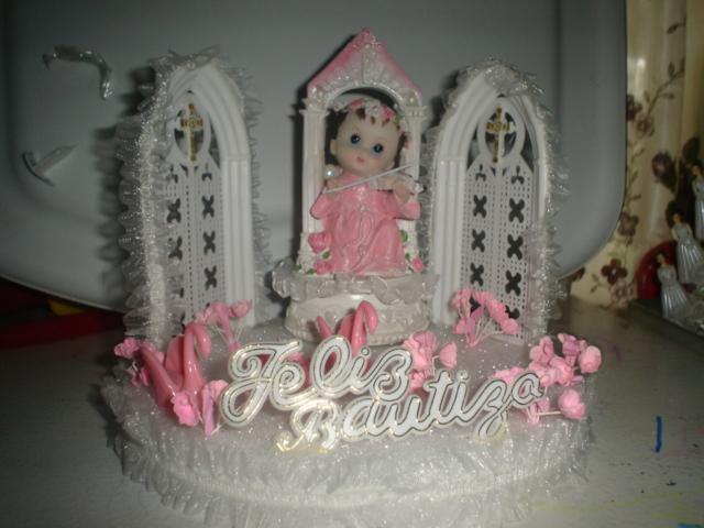Arreg de bautizo angelito nina from decoraciones karen in - Decoracion para bautizo de nina ...