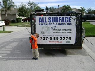 Roof Cleaning And Pressure Washing By All Surface Pressure