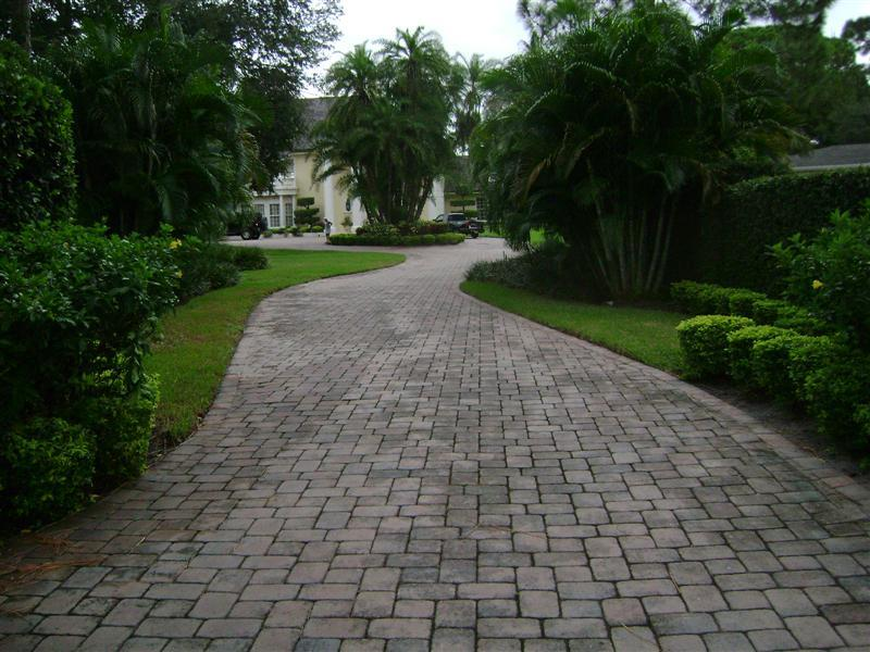 Pavered Driveway Clearwater Florida Jpg From Roof