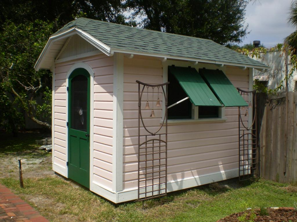 Jerkinhead shed from historic shed in brooksville fl 34601 for Sheds brooksville fl