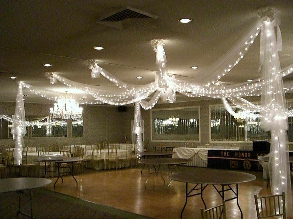 Tulle Draping Over Dance Floor From Party Time Designs In Port Monmouth Nj 07758