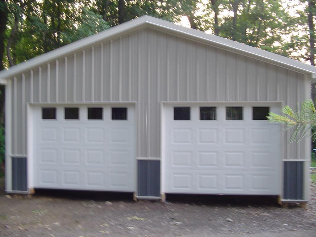 24x24x9 pole barn from abco pole barns for Modern pole builders