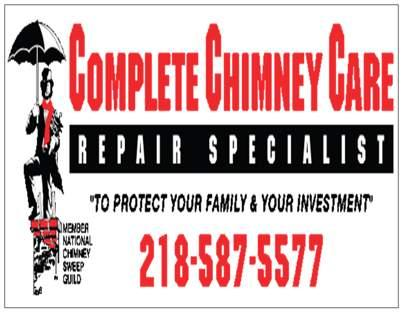 Complete Chimney Care Pine River Mn 56474 218 587 5577