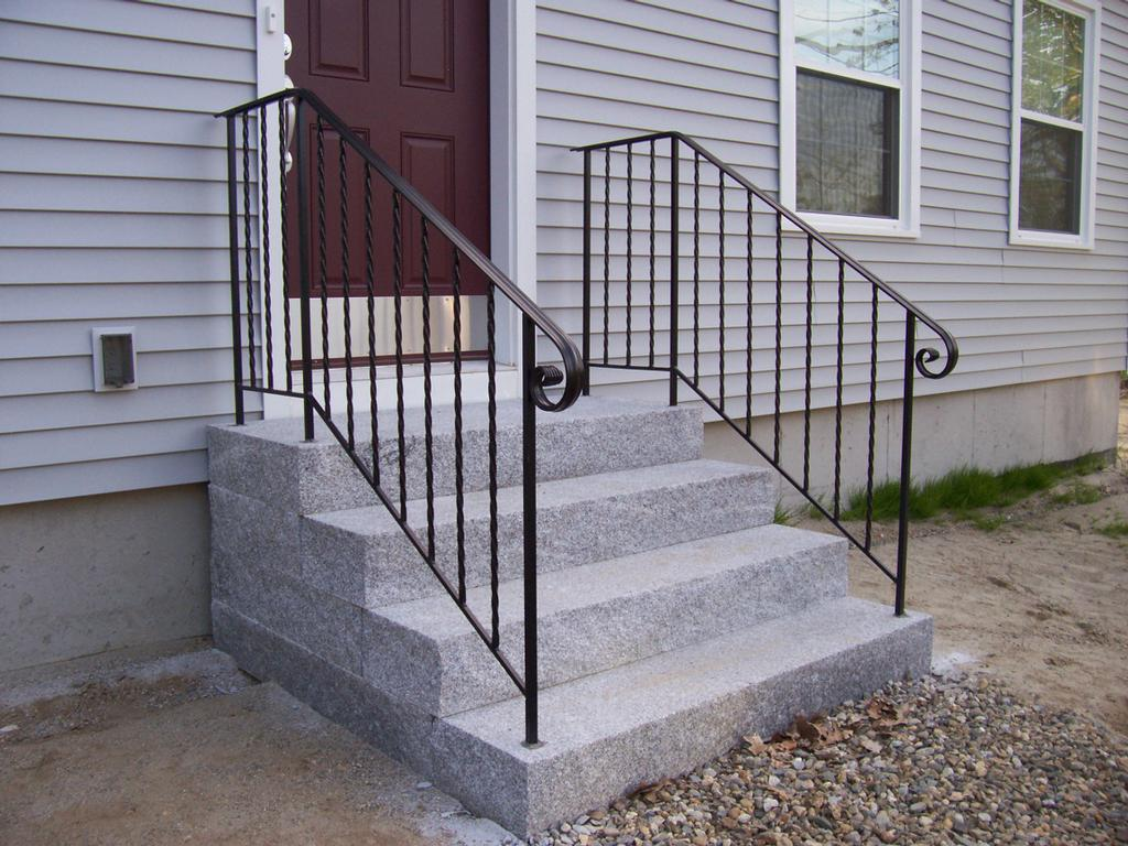 Pictures For Mainely Handrails In Benton ME 04901 Patio Deck