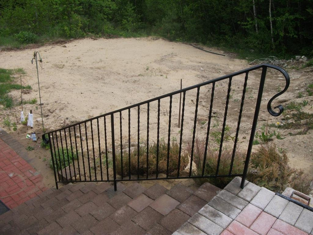 Wrought Iron Handrail From Mainely Handrails In Waterville