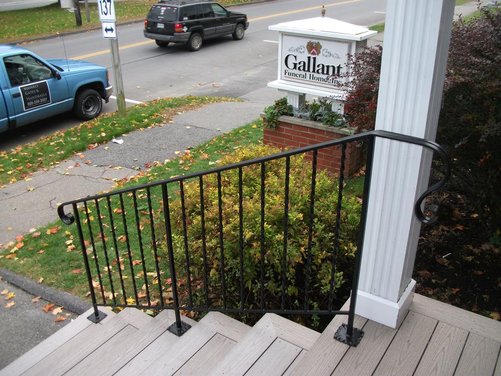 Handrails For Composite Steps From Mainely Handrails In